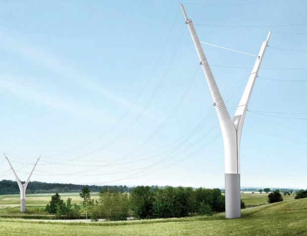 Knight Architects Y-shaped Pylon