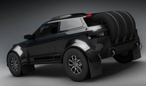 Evoque for Dakar
