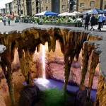 3D street art by Edgar Muller