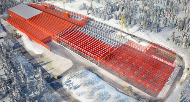Facebook s Arctic Server Farm