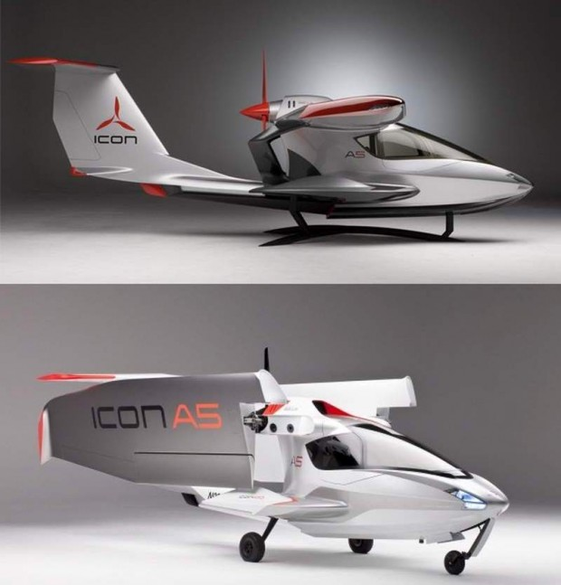 ICON A5 aircraft