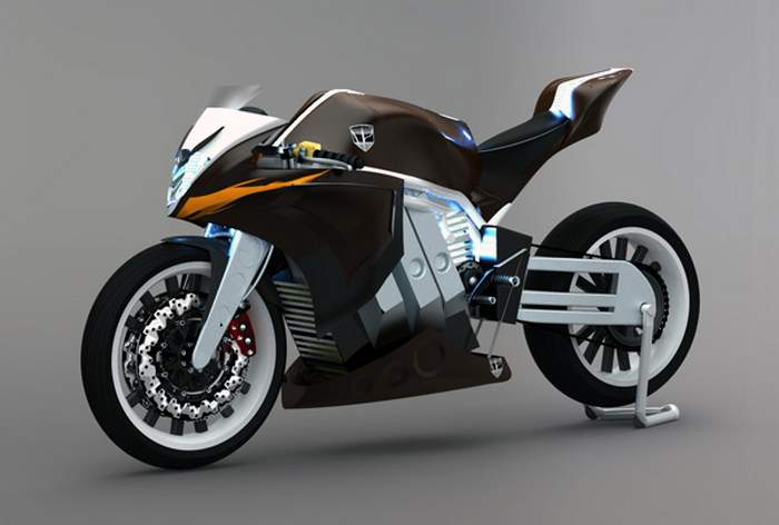M2 Electric Racing Motorcycle Wordlesstech