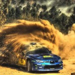 Rally Cars in HDR Photography