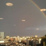 UFOs within the rainbow