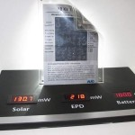 Un-plugged Flexible E-paper display