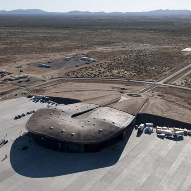 Virgin Galactic spaceport