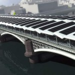 World largest Solar Bridge in London