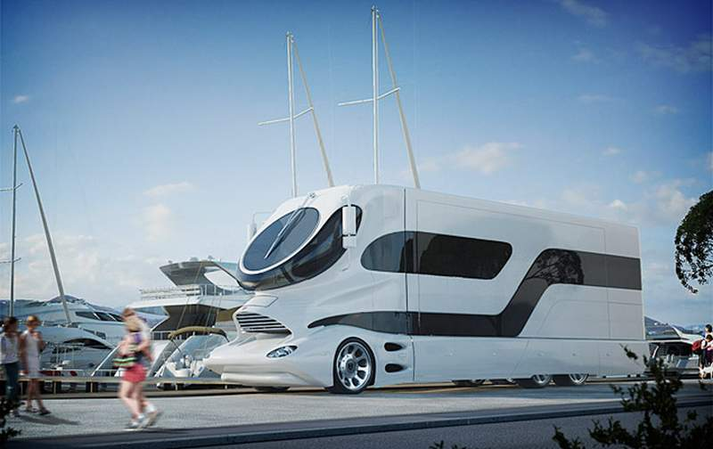 Elemment Palazzo World S Most Expensive Motorhome