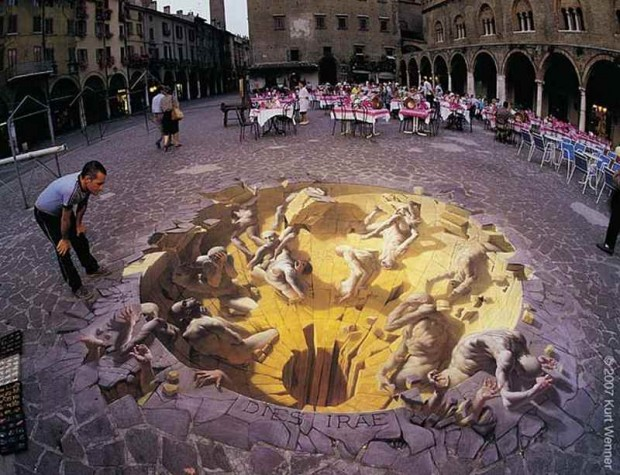 3D Pavement Artists