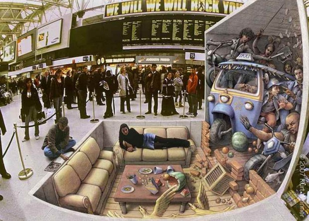 3D Pavement Artists (6)
