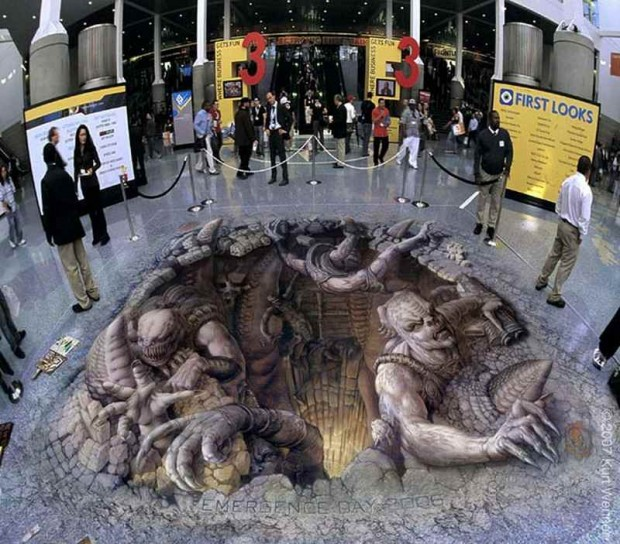 3D Pavement Artists (2)