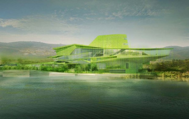 Busan Camellian Opera House by Matteo Cainer Architects (4)