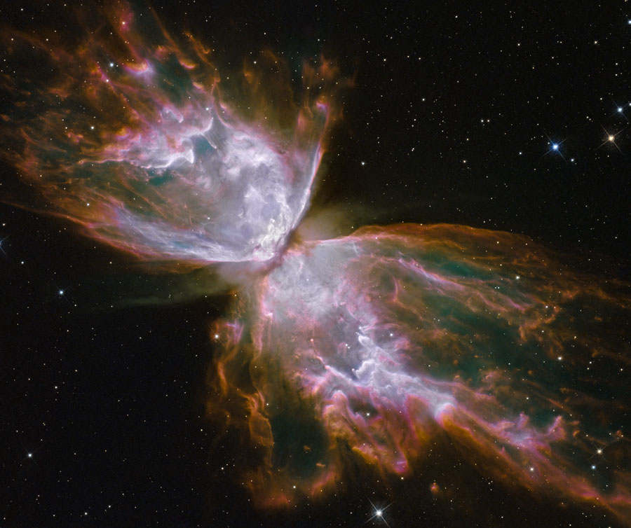 NGC 6302 from Hubble