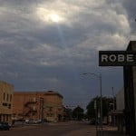 Crepuscular Ray over Abilene