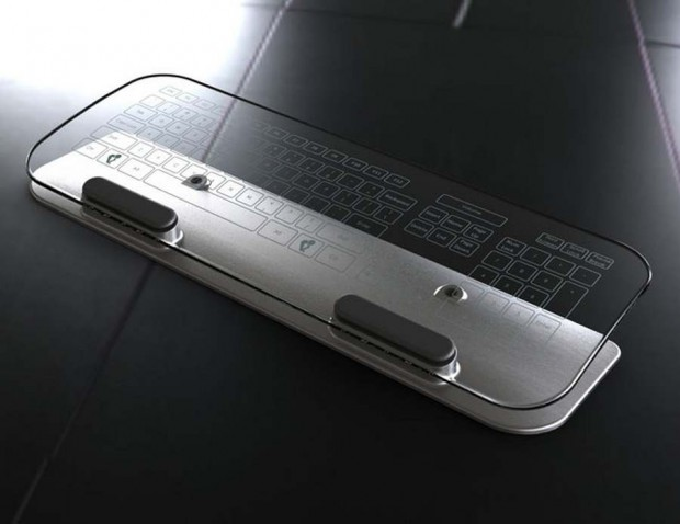 Multi-Touch keyboards and mice