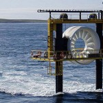 In France the world's largest Tidal Energy Farm