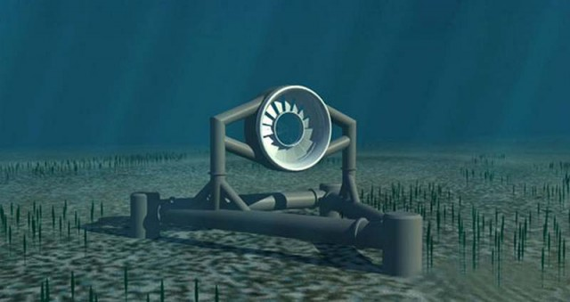 In France the world s largest Tidal Energy Farm
