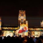 Lumiere Festival in Durham Cathederal