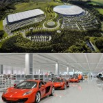 McLaren production center by Foster + Partners