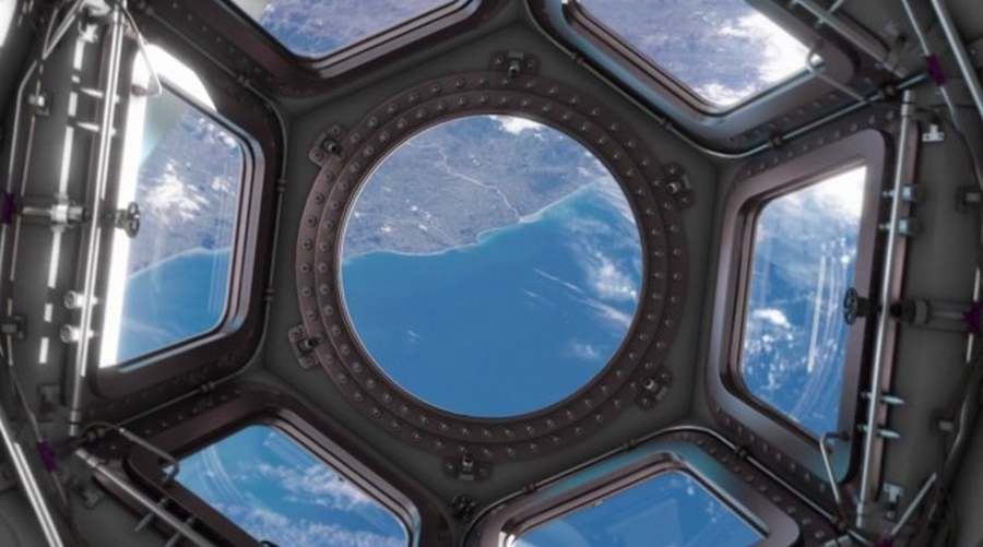 Cupola in ISS (3)
