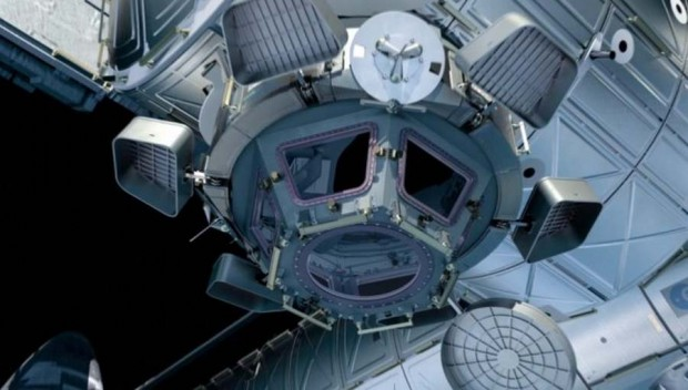 Cupola in ISS (2)