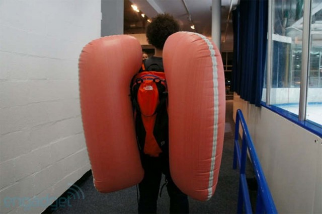 North Face's Avalanche Airbag Safety System
