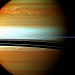 Saturn's huge Northern Storm