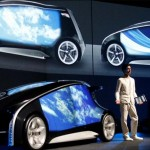 Toyota unveils Fun-Vii car with touch-screen doors
