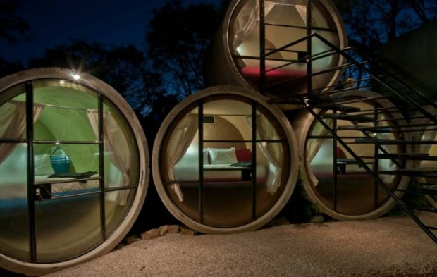 Pipe hotel