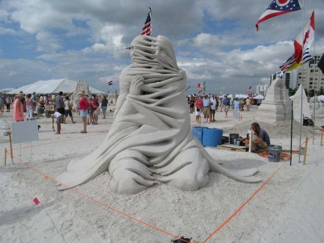 World Championship of Sand Sculpting on Fort Myers Beach (4)
