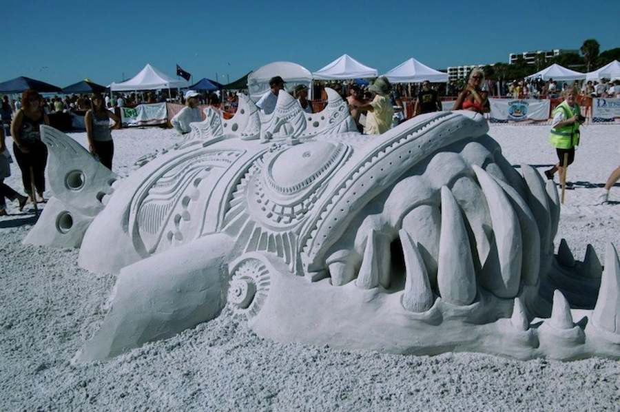 World Championship of Sand Sculpting on Fort Myers Beach (2)