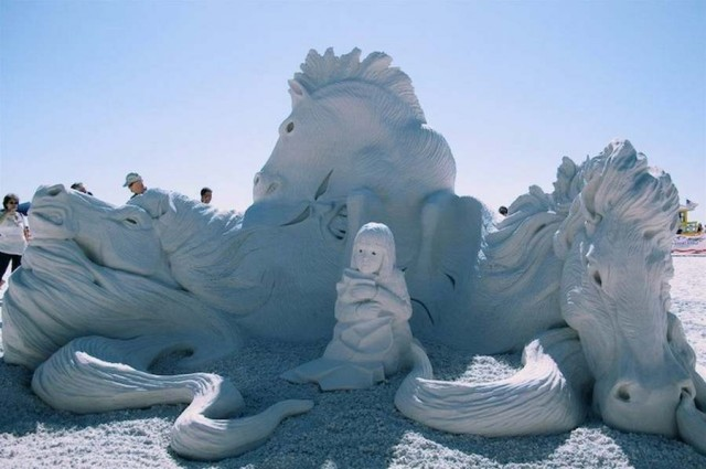 World Championship of Sand Sculpting on Fort Myers Beach (1)