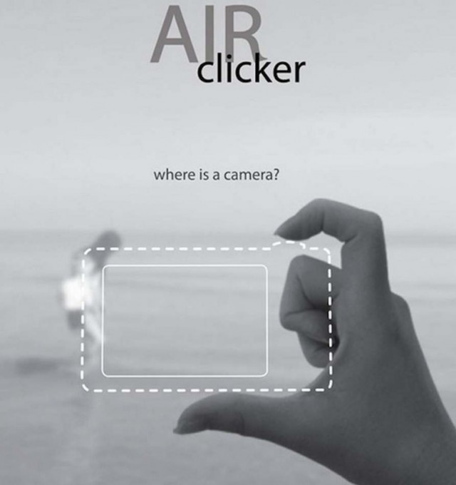 Air Clicker- two Finger camera