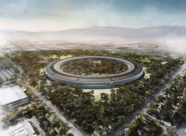 Apple Campus by Foster and Partners