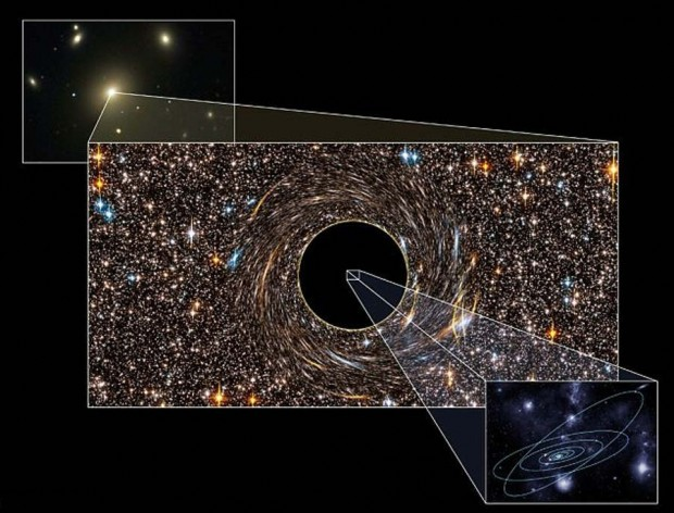 Giant Black Hole