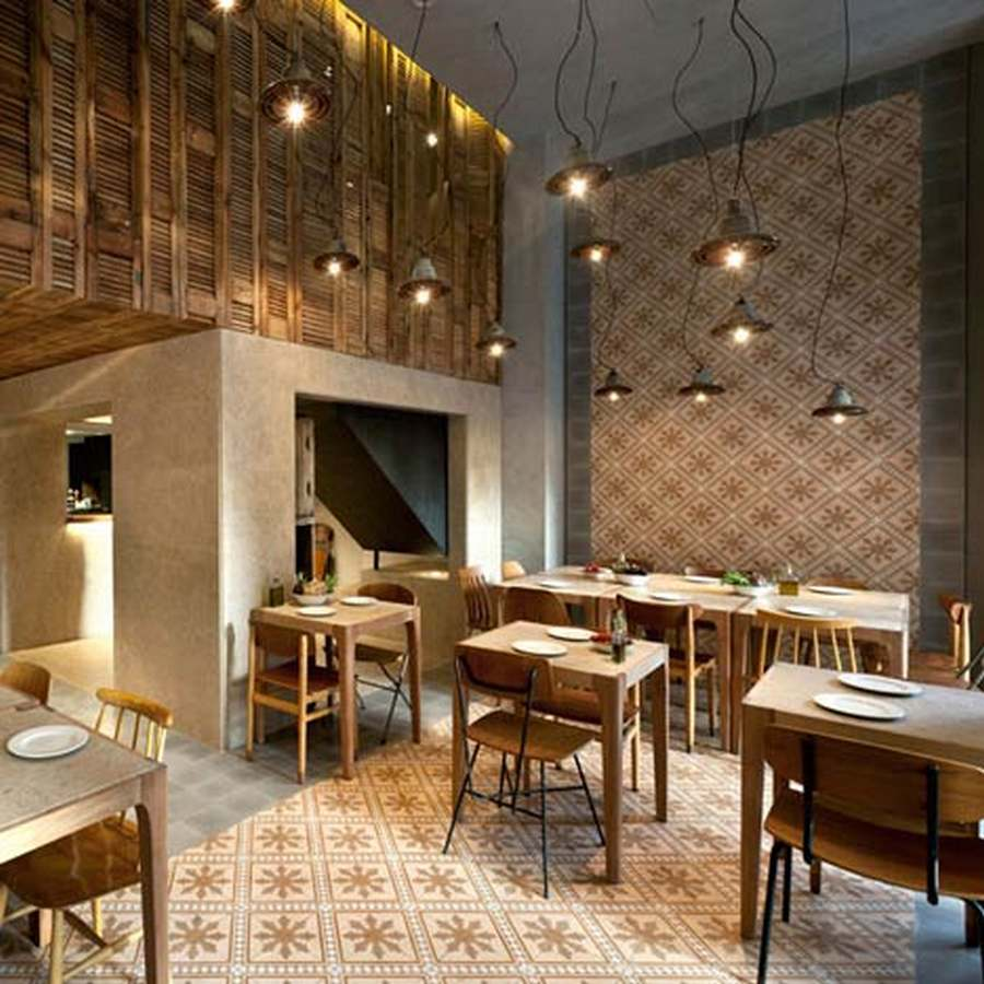 Capanna restaurant in athens by k studio wordlesstech for Ad interni