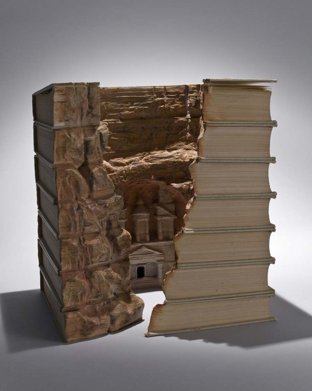 Carved Book Landscapes (6)