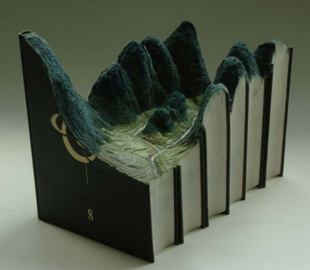 Carved Book Landscapes (4)