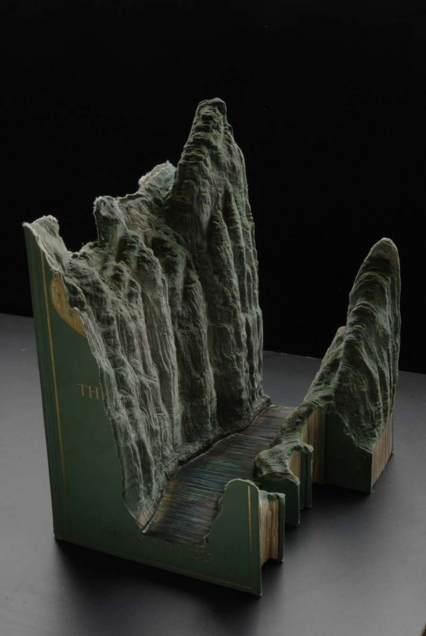 Carved Book Landscapes (3)