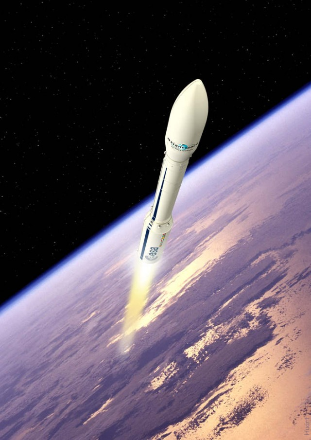 ESAs IXV experimental reentry vehicle