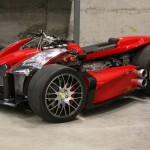 Ferrari powered Quad bike (video)