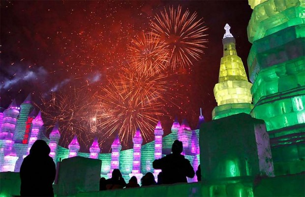 Harbin International Ice and Snow Festival in Harbin, China