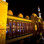 Sheikh Zayed Grand Mosque Projections (video)