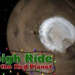 Sleigh ride over Mars