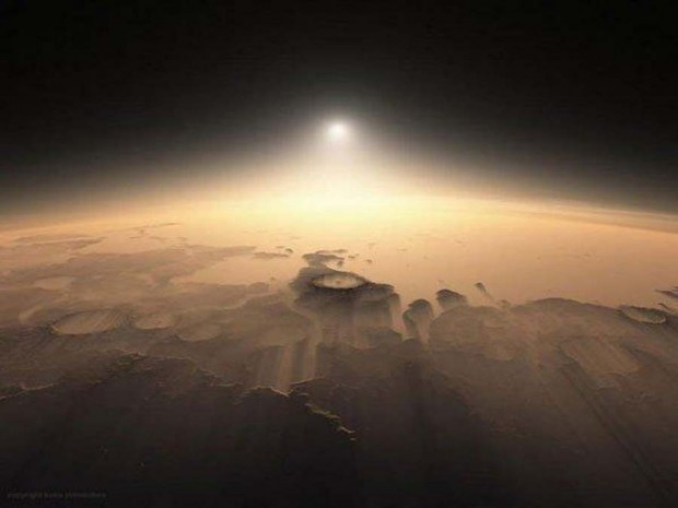 Martian Sunrises (3)