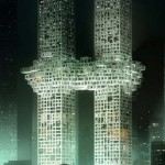 The cloud- two connected Towers