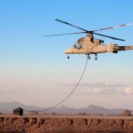 Unmanned Copter takes first flight (video)