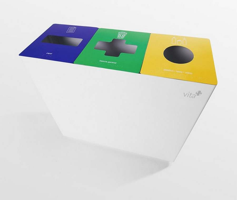 Vita Recycle Bin for solid waste (1)