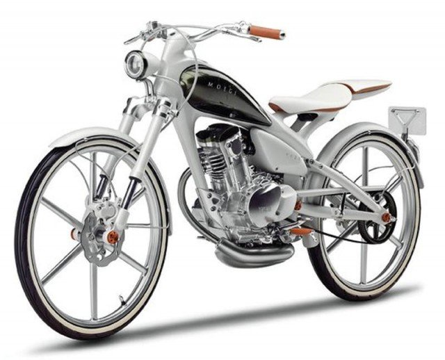 Yamaha Y125 lightweight retro bike