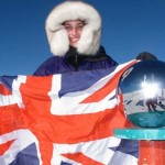 Youngest person to ski to the South Pole